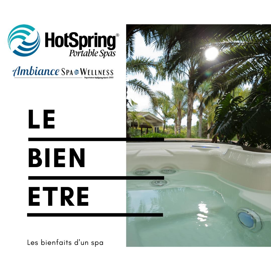 """Pourquoi choisir un Spa Hotspring - Les bienfaits de l""""hydrothérapie"""